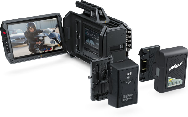 BlackMagic URSA примеры видео